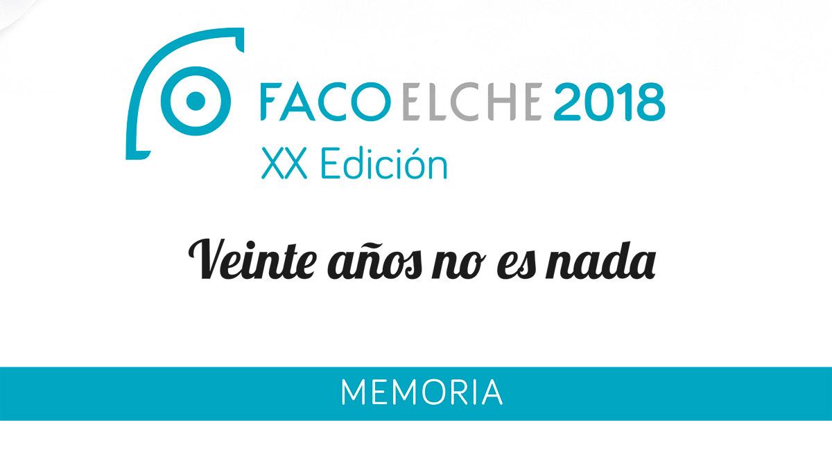 Éxito de convocatoria en FacoElche 2012