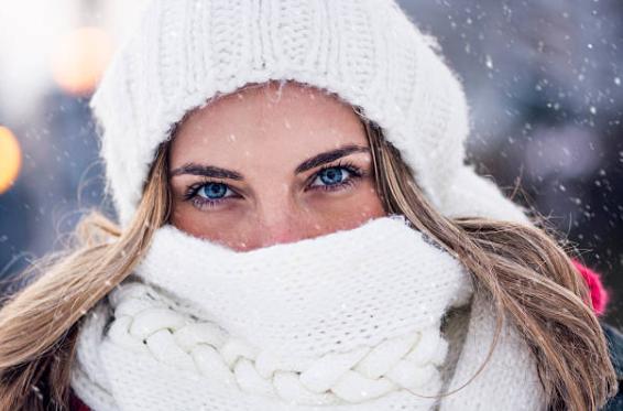 El cuidado de los ojos en invierno